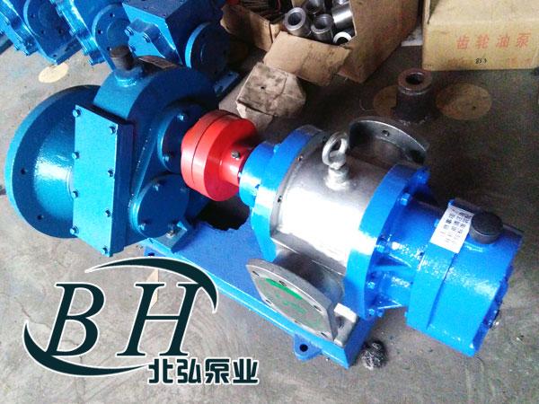 工业品 机械产品 通用零部件 泵 齿轮泵  lc不锈钢罗茨泵又称作转子泵